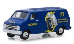 greenlight-gl41070e-1977-dodge-b100-van-michelin-1-64