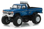 greenlight-gl49030a-1974-ford-f250-monster-truck-midwest-four-wheel-drive-1-64